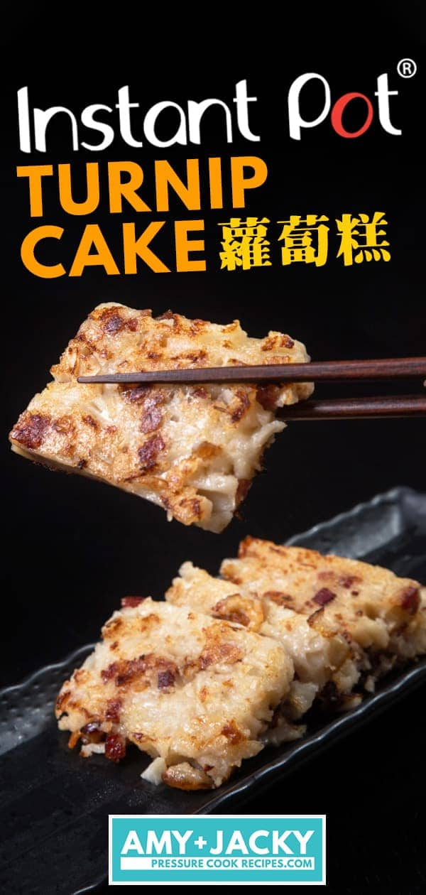 Instant Pot Turnip Cake | 蘿蔔糕 | Pressure Cooker Turnip Cake | Lo Bak Go | Luo Buo Gao | Chinese Radish Cake | 菜頭粿 | Chinese Recipes | Chinese New Year | Dim Sum | #instantpot #pressurecooker #chinese #recipes