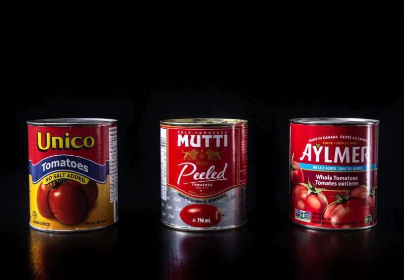 Canned Whole Peeled Tomatoes for making Instant Pot Spaghetti  #AmyJacky #InstantPot #PressureCooker #recipes