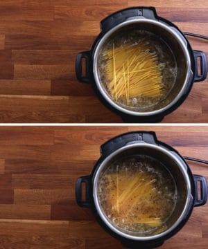 cook spaghetti in Instant Pot