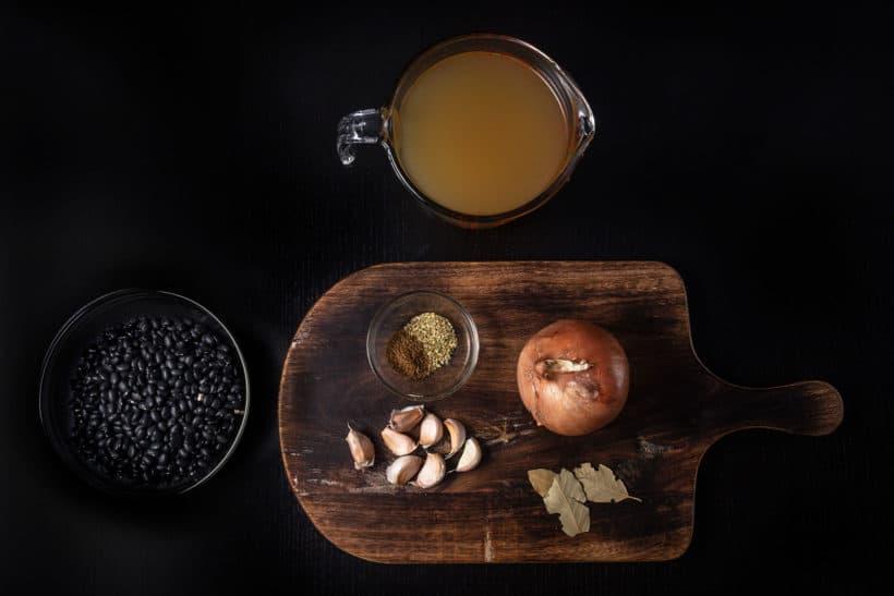 Instant Pot Black Beans Recipe Ingredients  #AmyJacky #InstantPot #recipes #healthy #vegetarian