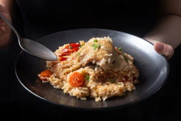 Instant Pot Chicken and Rice | Instant Pot Chicken Rice | Pressure Cooker Chicken and Rice | Instant Pot Chicken Recipes | Chicken and rice recipe | Instant Pot Rice | Instant Pot One Pot Meals | Healthy Instant Pot Recipes #AmyJacky #InstantPot #PressureCooker #recipes #chicken
