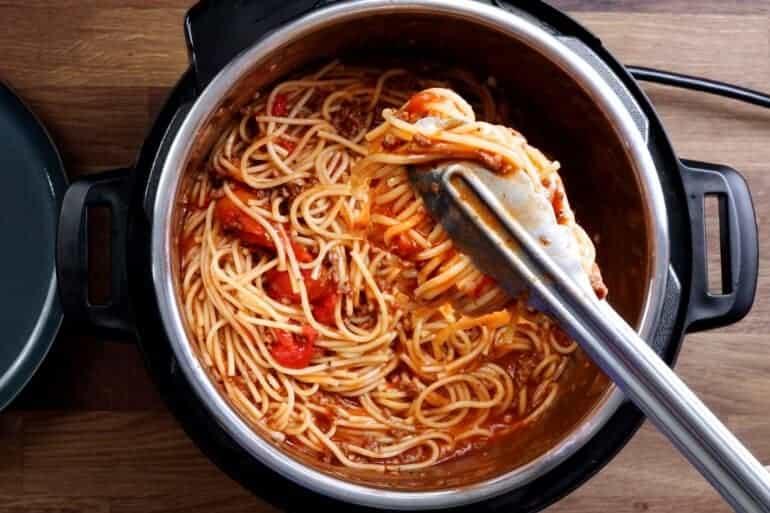 instant pot spaghetti   pressure cooker spaghetti #AmyJacky #InstantPot #PressureCooker #recipe