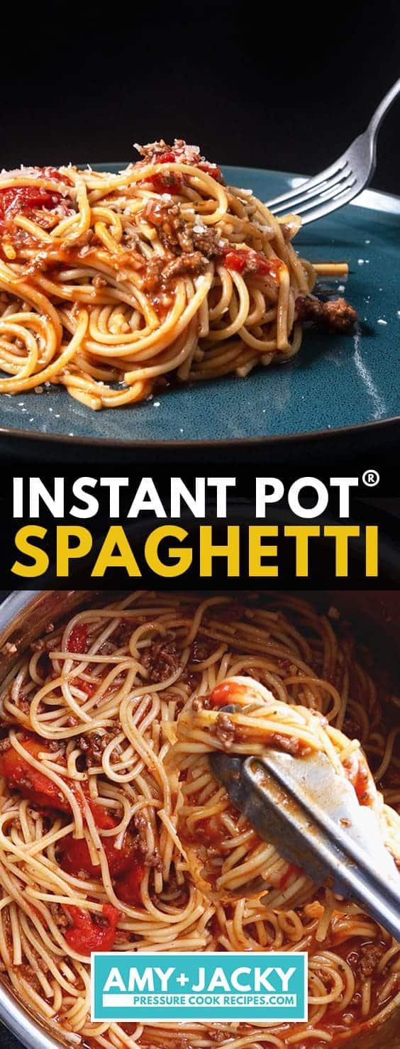 Instant Pot Spaghetti | Pressure Cooker Spaghetti | Instant Pot Pasta | Pressure Cooker Pasta | One Pot Spaghetti | Marinara Recipe | How to cook spaghetti | One Pot Meal #AmyJacky #InstantPot #PressureCooker #recipe #easy #healthy #kidfriendly