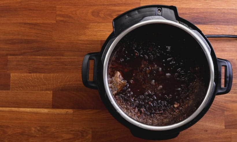 Instant Pot Black Beans | Pressure Cooker Black Beans | Instant Pot Beans | Pressure Cooker Beans | Black Beans Recipes | Instant Pot Vegetarian | Healthy Instant Pot Recipes | how to cook black beans  #AmyJacky #InstantPot #recipes #sides #mexican