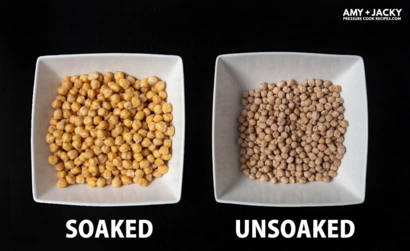Instant Pot Chickpeas | Pressure Cooker Chickpeas | Garbanzo Beans: soak chickpeas vs no soaking chickpeas  #AmyJacky #InstantPot #PressureCooker #beans #recipes