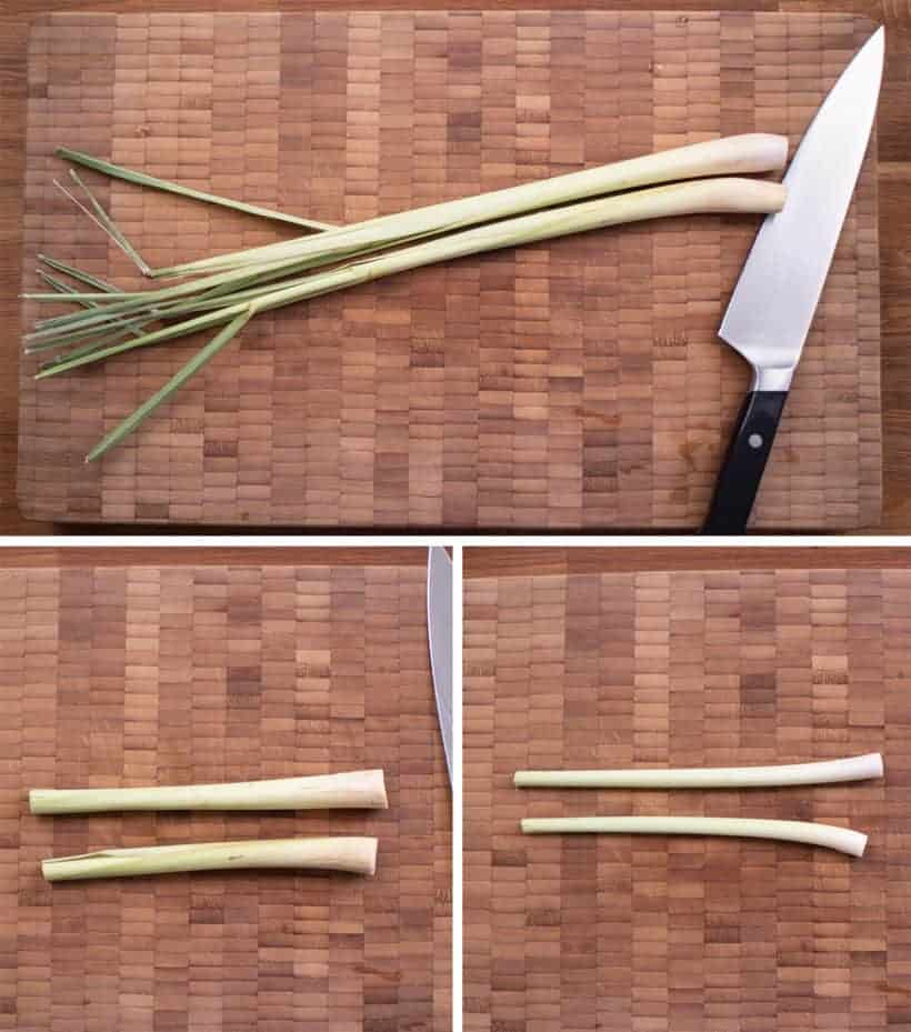 How to cut lemongrass  #AmyJacky #recipes #asian