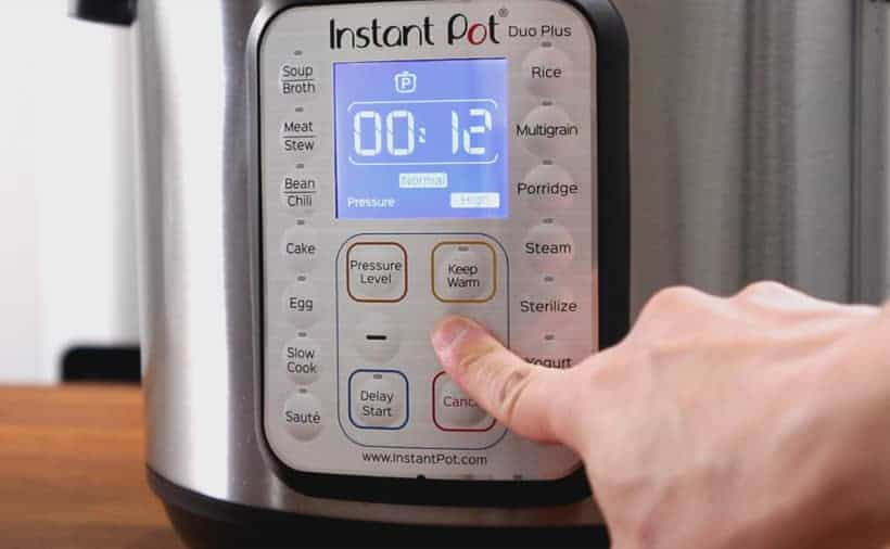 Instant Pot Pressure Cooker High Pressure 12 minutes #AmyJacky #InstantPot #PressureCooker