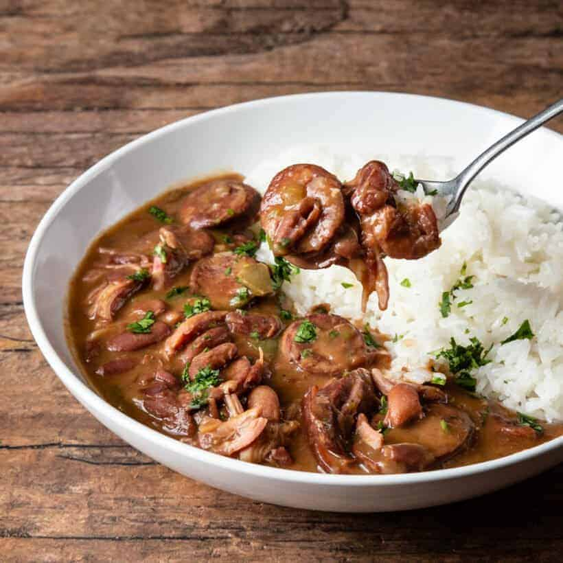 instant pot red beans and rice  #AmyJacky #InstantPot #recipe