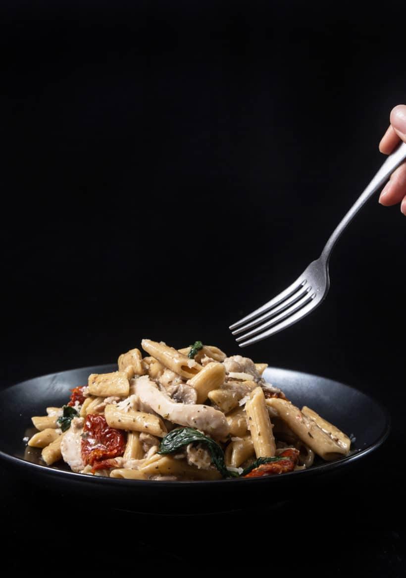 Instant Pot Tuscan Chicken Pasta | Pressure Cooker Tuscan Chicken Pasta | Instant Pot Pasta | Instant Pot Chicken Recipes | easy pasta recipes | chicken dinner ideas | easy chicken recipes | chicken pasta recipes #AmyJacky #InstantPot #PressureCooker #recipes #easy #chicken