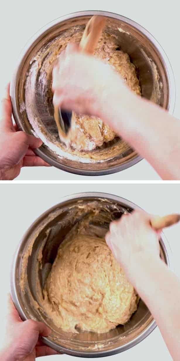 Instant Pot Banana Bread Recipe: make homemade banana bread batter #AmyJacky #InstantPot #PressureCooker #recipe
