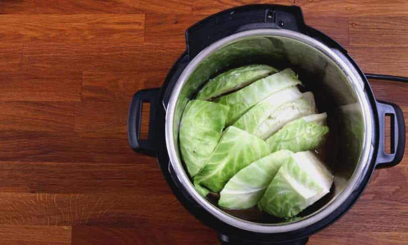 instant pot cabbage wedges: cooking cabbage in Instant Pot Pressure Cooker  #AmyJacky #InstantPot #PressureCooker #recipes #sides #keto