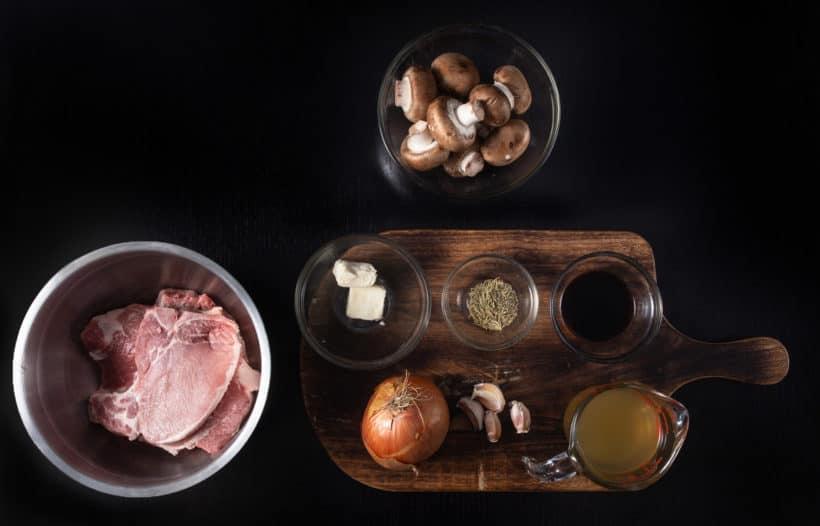 instant pot pork chops recipe ingredients