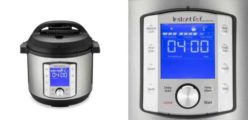 Instant Pot Duo Evo Plus New Interface