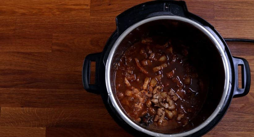 Instant Pot Taiwanese Braised Pork Belly  #AmyJacky #InstantPot #PressureCooker #recipe #taiwanese #asian #pork