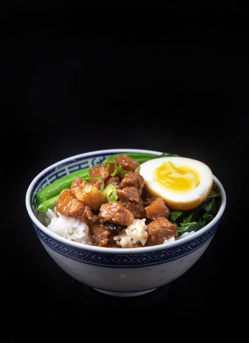 Instant Pot lu rou fan | 滷肉飯 | pressure cooker lu rou fan | taiwanese braised pork | taiwanese braised pork belly | instant pot pork | pork belly recipes | ru rou fan | taiwanese pork rice | taiwanese minced pork #AmyJacky #InstantPot #PressureCooker #recipes #taiwanese #asian #pork