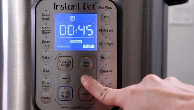 Instant Pot Pressure Cooker High Pressure 45 minutes #AmyJacky #InstantPot #PressureCooker #recipe #ninjaFoodi #PowerPressureCookerXL