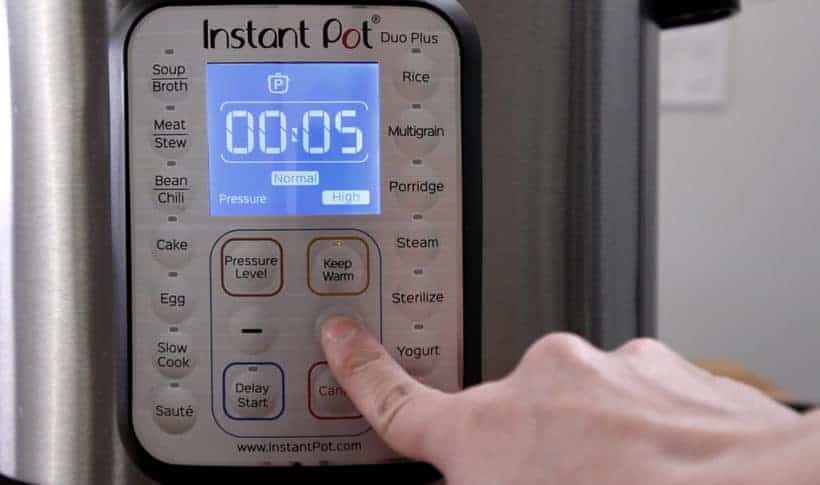 Instant Pot Pressure Cooker High Pressure 5 minutes #AmyJacky #InstantPot #pressurecooker #recipe