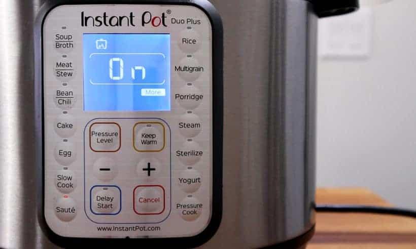 Instant Pot Pressure Cooker Saute More #AmyJacky #InstantPot #PressureCooker