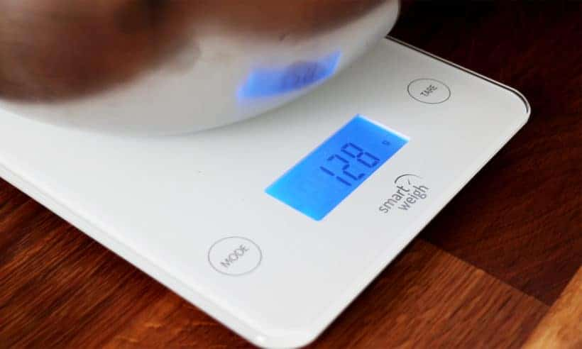 Use a weight scale for accuracy #AmyJacky #recipe #cooking #food