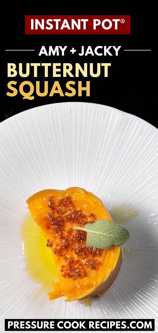 instant pot butternut squash | butternut squash instant pot | instant pot squash | cooking butternut squash in instant pot | whole butternut squash instant pot | pressure cooker squash | butternut squash instant pot recipe | butternut squash recipes | butternut squash pressure cooker #AmyJacky #InstantPot #PressureCooker #recipe #vegan #vegetarian #glutenfree