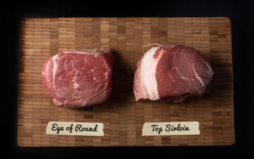 Cooking eye of round roast vs. top sirloin in Instant Pot Experiment #AmyJacky #InstantPot #PressureCooker #beef #holiday #recipe