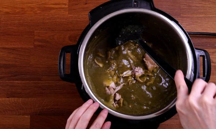 instant pot green chili chicken #AmyJacky #InstantPot #PressureCooker #recipe #mexican #chicken