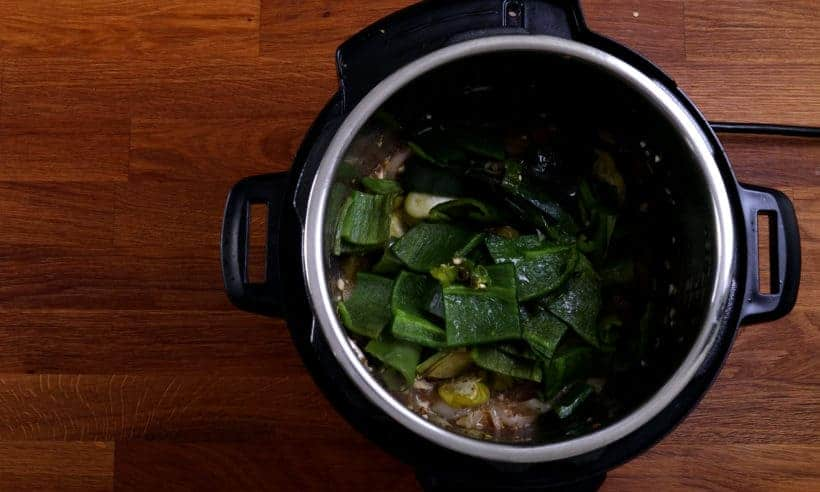 Add jalapeno, poblano peppers, serrano peppers, anaheim peppers in Instant Pot Pressure Cooker  #AmyJacky #InstantPot #PressureCooker #recipe
