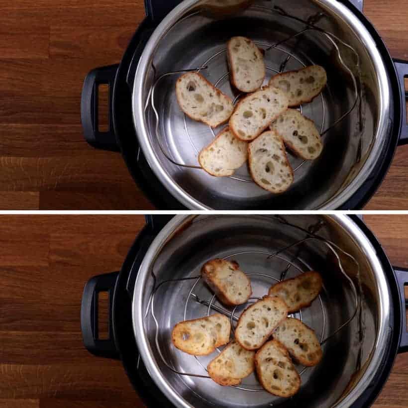 air fryer toast baguette #AmyJacky #InstantPot #AirFryer