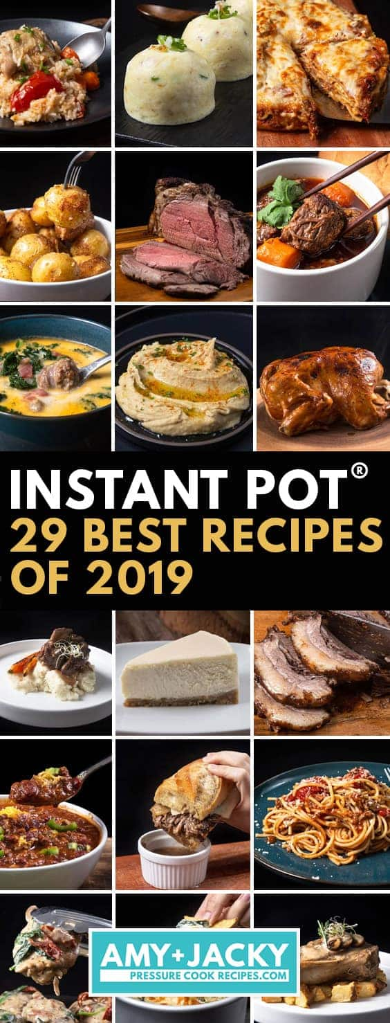 Best Instant Pot Recipes | Best Pressure Cooker Recipes | Best Instapot Recipes | Best Ninja Foodi Recipes | Amy and Jacky Recipes  #AmyJacky #InstantPot #PressureCooker #recipes