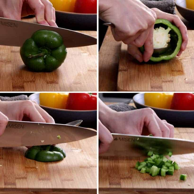 how to prepare bell peppers #AmyJacky #InstantPot #PressureCooker #recipe