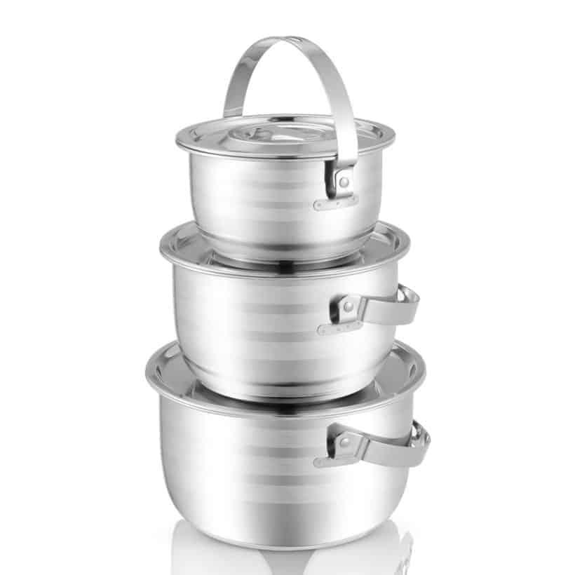 Instant Pot Pot in Pot Stainless Steel Pot #AmyJacky #InstantPot #PressureCooker #accessories