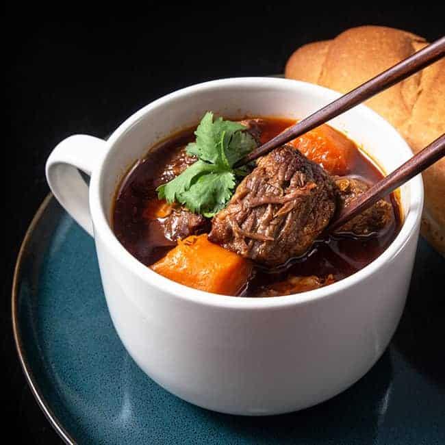 Instant Pot Bo Kho - Vietnamese Beef Stew #AmyJacky #InstantPot #recipes #PressureCooker