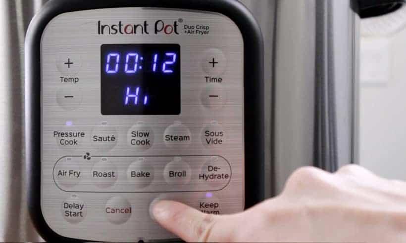 Instant Pot Duo Crisp High Pressure 12 minutes #AmyJacky #InstantPot #PressureCooker #recipe