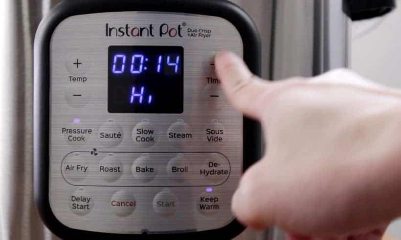 Instant Pot Duo Crisp High Pressure 14 minutes #AmyJacky #InstantPot #PressureCooker
