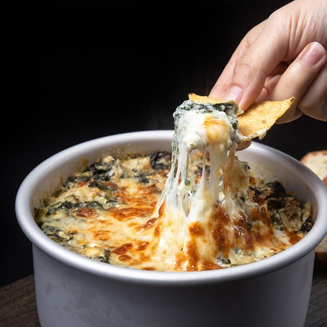 Instant Pot Spinach Artichoke Dip #AmyJacky #InstantPot #recipes #PressureCooker
