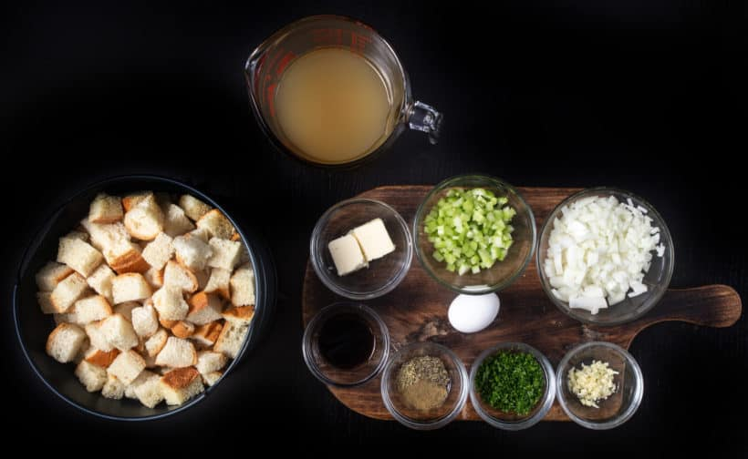 instant pot stuffing ingredients #AmyJacky #InstantPot #PressureCooker #sides #christmas #recipes