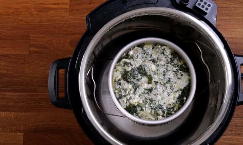 pressure cooker spinach artichoke dip #AmyJacky #InstantPot #PressureCooker #recipe