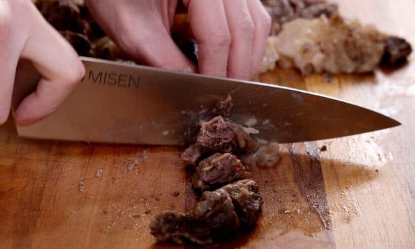 Cut beef finger meat #AmyJacky #beef #recipe