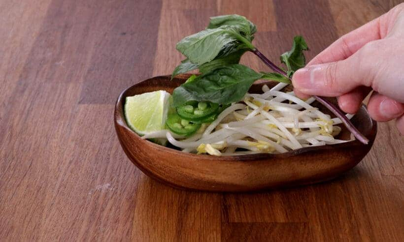 pho herb garnish plate #AmyJacky #recipe #asian #vietnamese