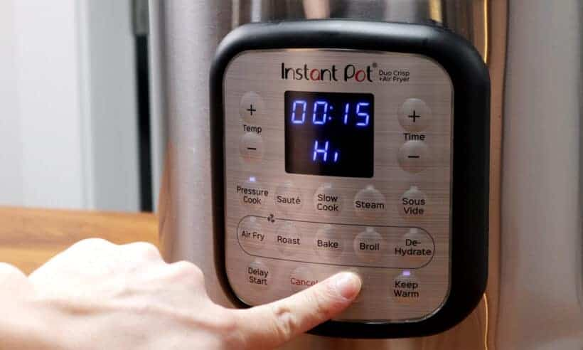 Instant Pot High Pressure 15 minutes  #AmyJacky #InstantPot #PressureCooker