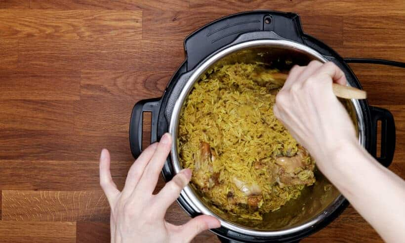 How to cook chicken biryani in Instant Pot   #AmyJacky #InstantPot #PressureCooker #recipe #indian #asian #chicken