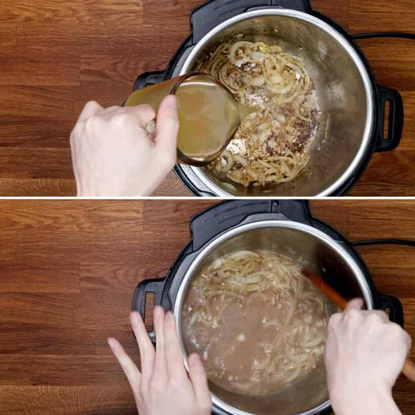 deglaze Instant Pot Pressure Cooker #AmyJacky #InstantPot #PressureCooker #recipe