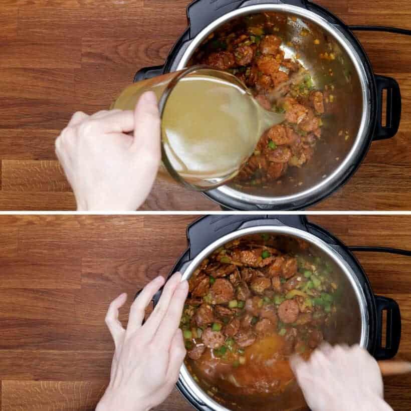 deglaze Instant Pot #AmyJacky #InstantPot #PressureCooker #recipe