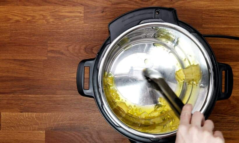 melt ghee in Instant Pot   #AmyJacky #InstantPot #PressureCooker #recipe