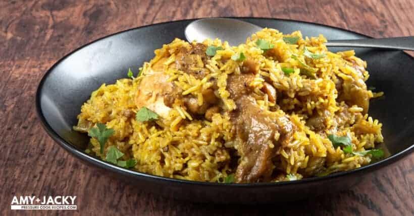 instant pot chicken biryani | chicken biryani instant pot | chicken biryani recipe | instant pot biryani | pressure cooker chicken biryani | pressure cooker biryani #AmyJacky #InstantPot #PressureCooker #recipe #indian #asian #chicken