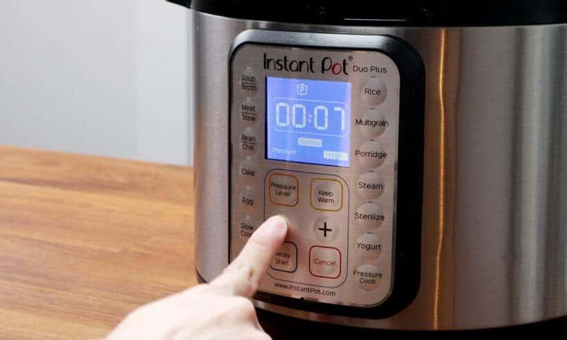 Instant Pot Pressure Cooker High Pressure 7 minutes #AmyJacky #InstantPot #PressureCooker