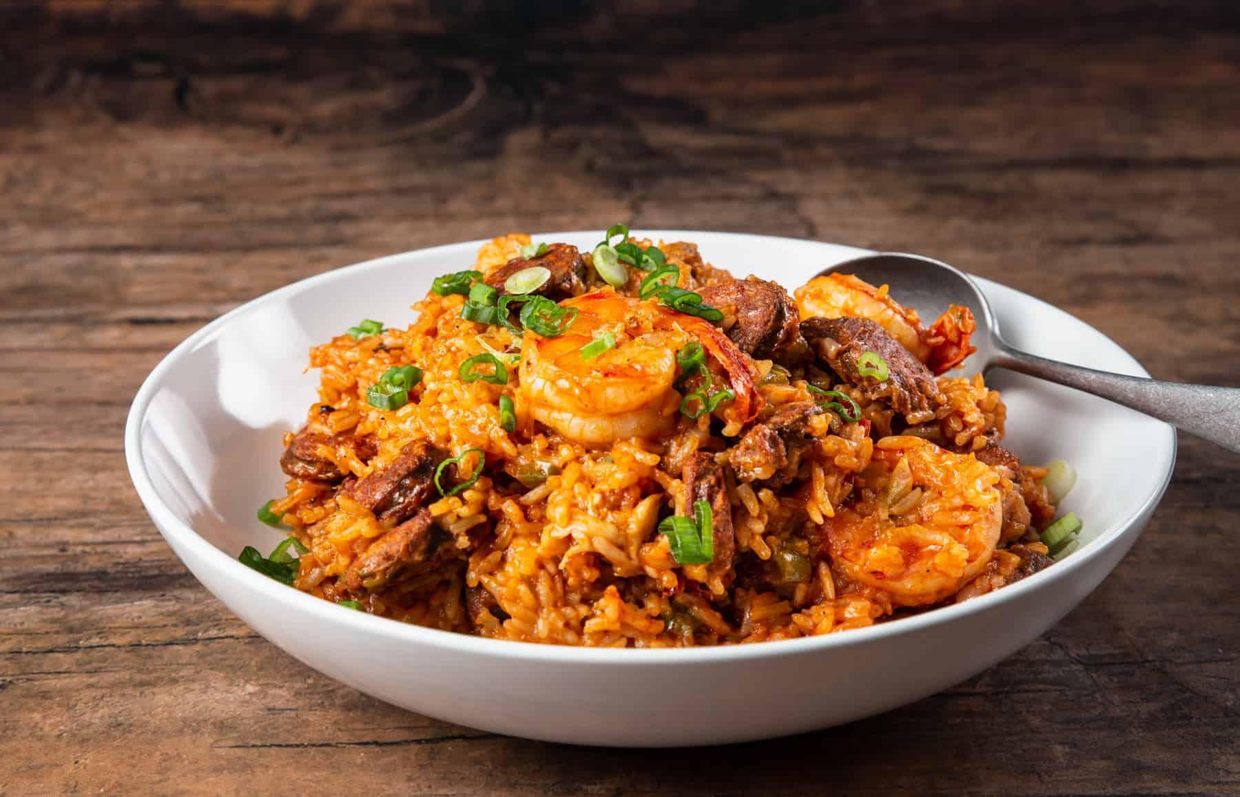 instant pot jambalaya | jambalaya instant pot | pressure cooker jambalaya | sausage jambalaya | chicken jambalaya | shrimp jambalaya #AmyJacky #InstantPot #PressureCooker #recipe #chicken #sausage #shrimp #cajun #creole