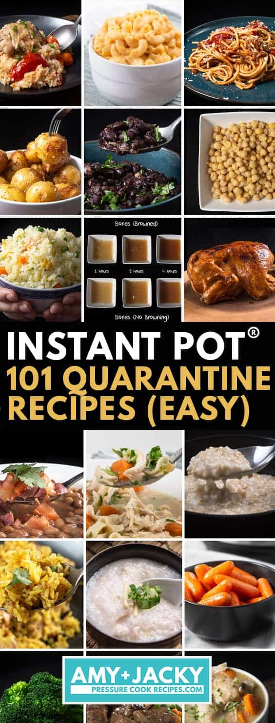 Quarantine Recipes | Instant Pot Quarantine Recipes | Recipes for Quarantine | quarantini recipes #AmyJacky #InstantPot #PressureCooker #recipes