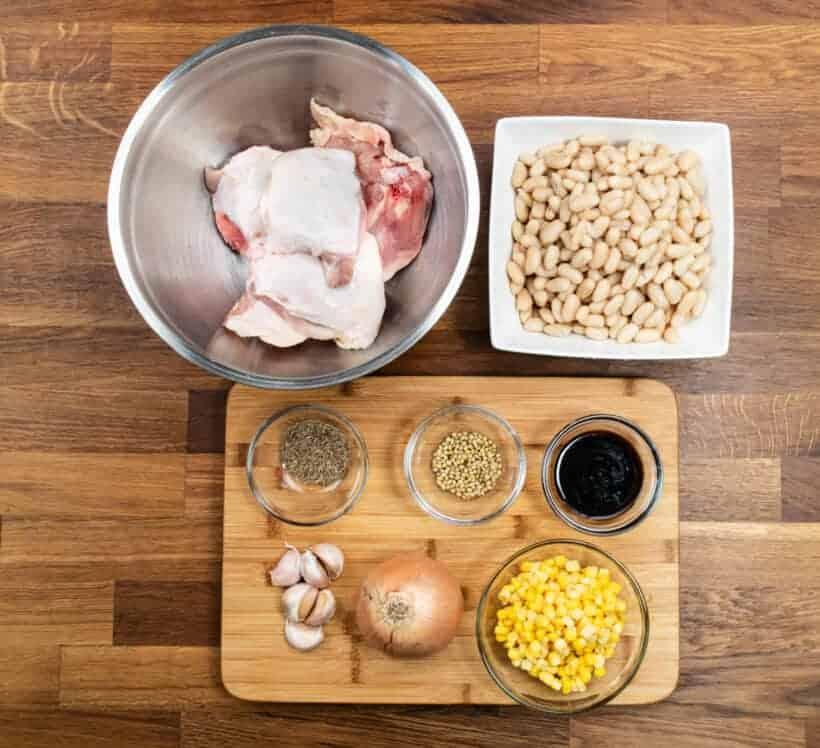 instant pot white chicken chili ingredients #AmyJacky #InstantPot #PressureCooker #recipe