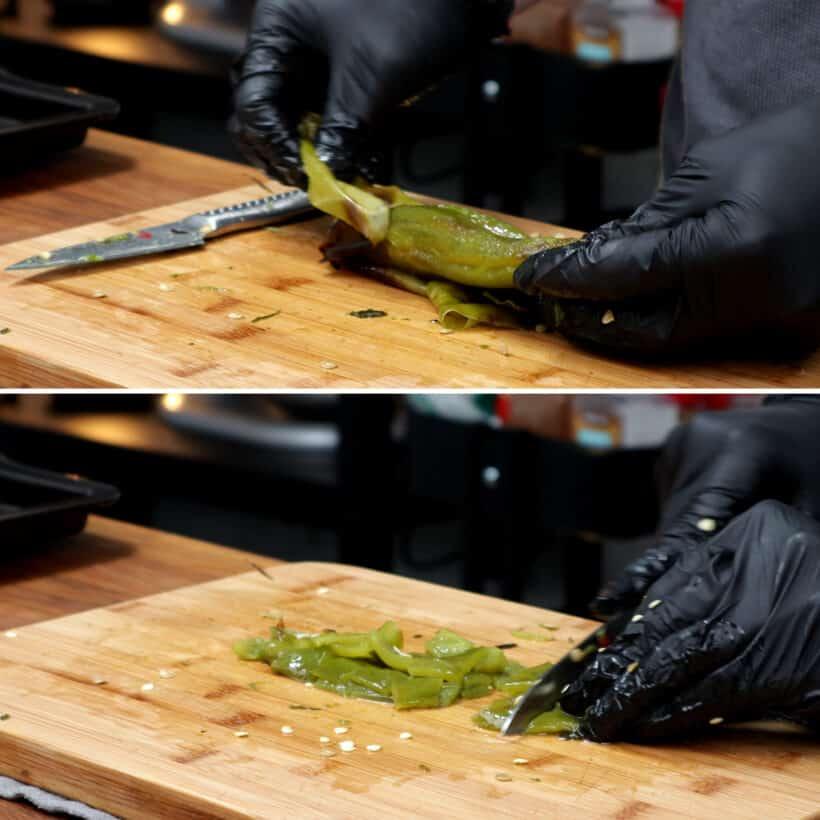 peel peppers #AmyJacky #recipe